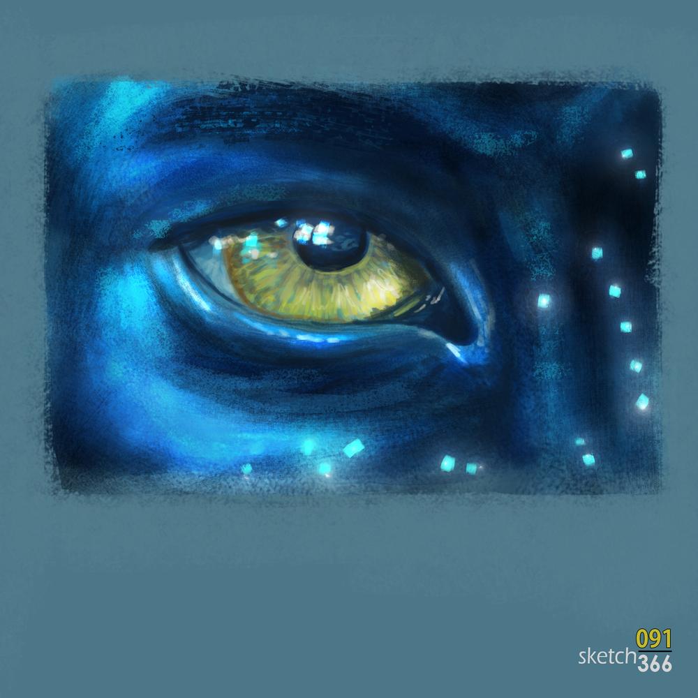 Avatar - digital paint