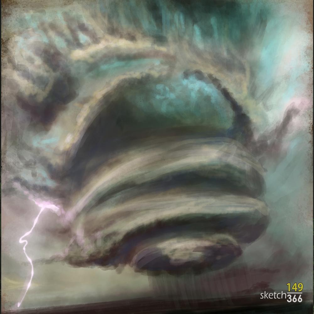 Storm - color study