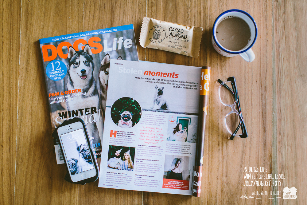 Dogs Life Magazine, Winter Special Edition, July/August 2015, pg 98