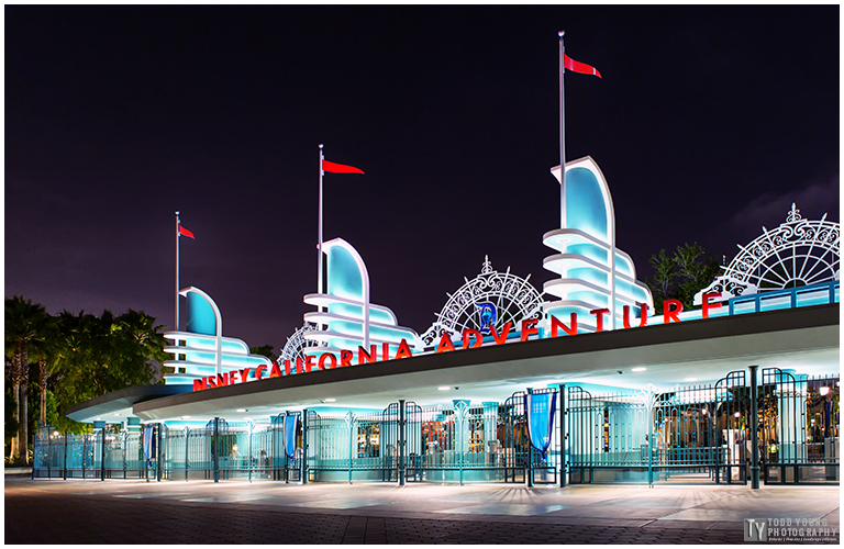 Disney California Adventure Main Gate - May 28, 2015