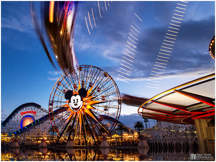Disney California Adventure - Paradise Pier - January 25, 2015
