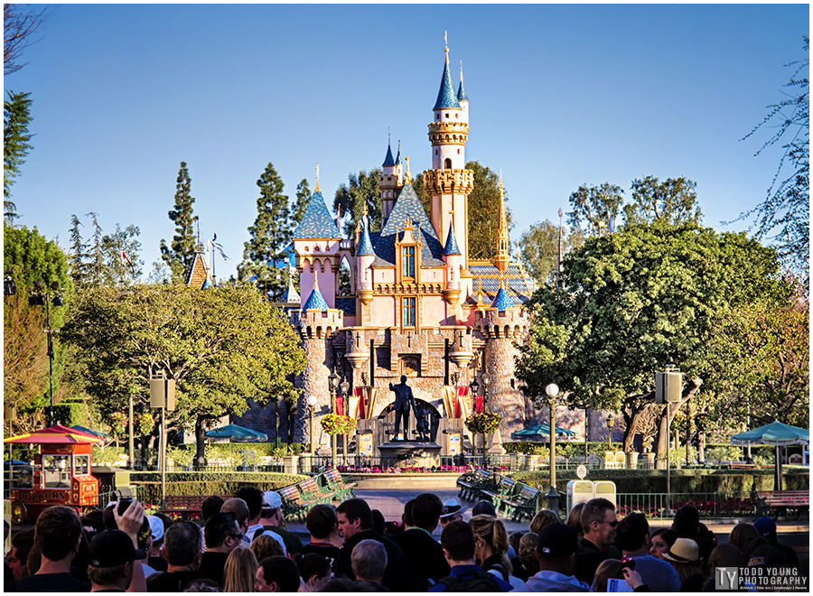 Waiting for the Rope Drop - January 24, 2015