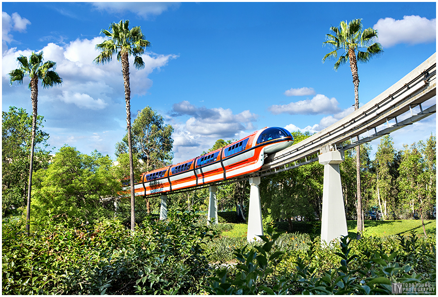 Monorail Orange  - September 20, 2015