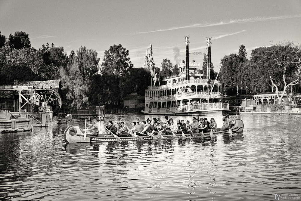 Rivers of America Canoe - November 8, 2015