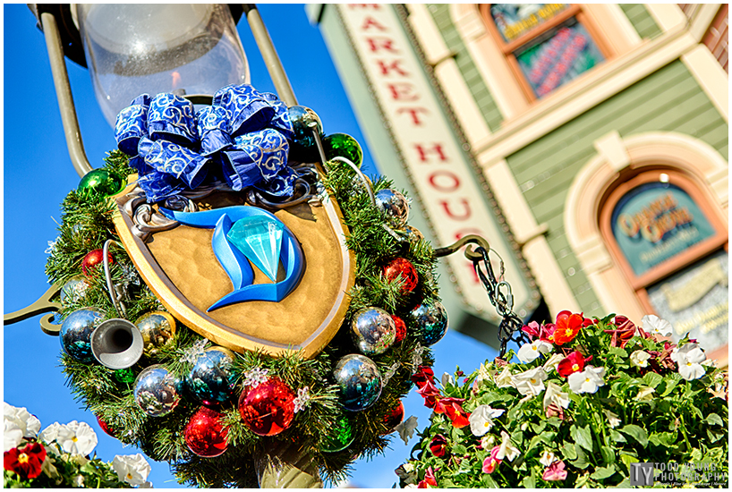 Christmas Card Disneyland Main Street - December 2, 2015