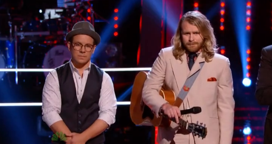 Midas Whale on 'The Voice'
