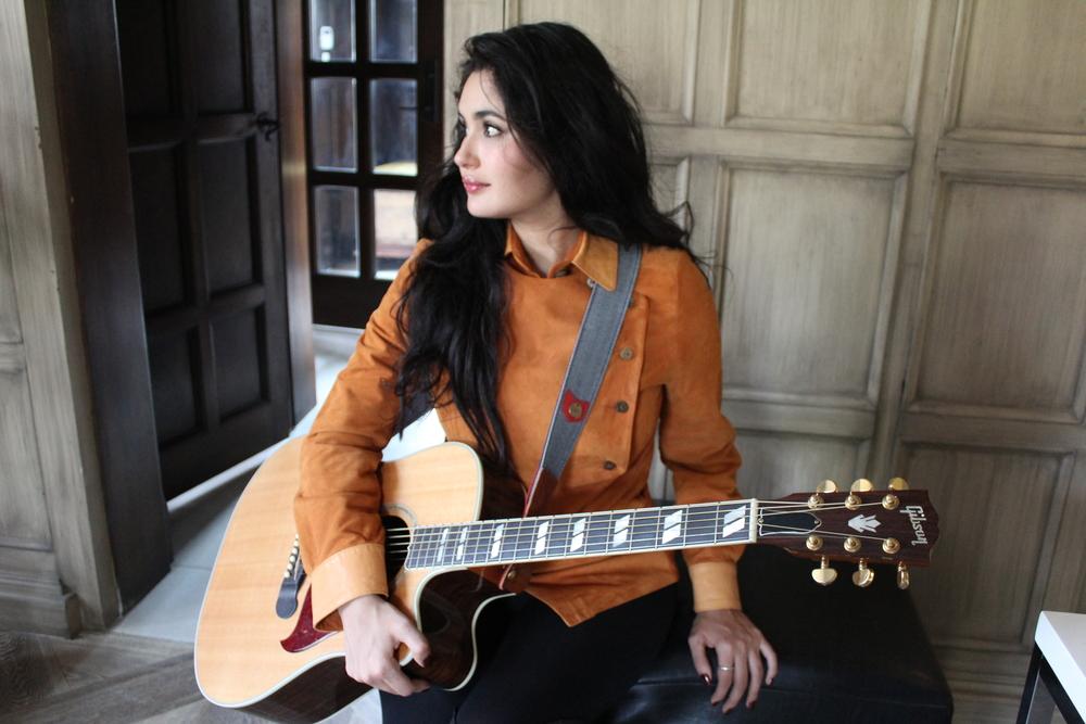 'Herringbone' Guitar Strap