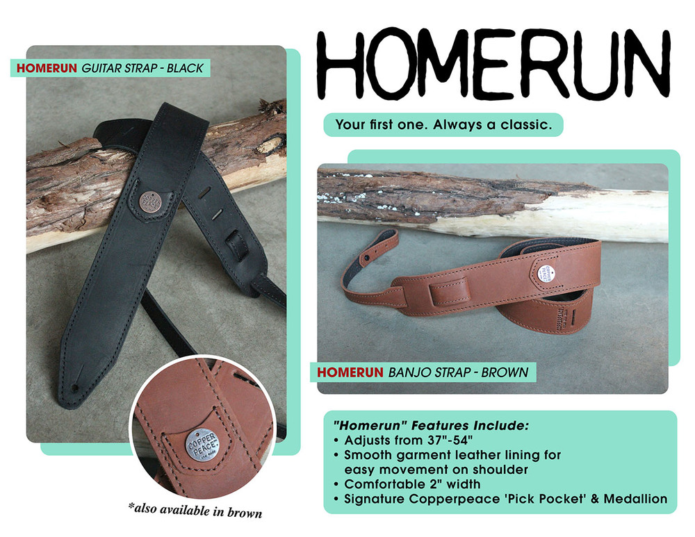 Homerun Guitar Strap