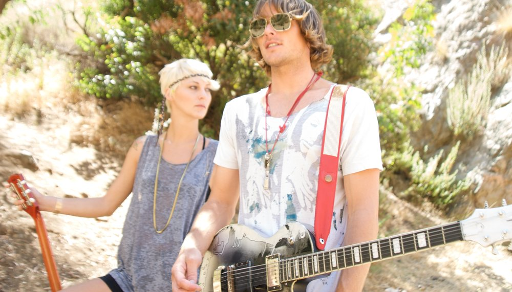 Copperpeace spent  2007-2015 in sunny Los Angeles, California - Photographer: J.Lynn // Models:Val & Cam Powell // August 2009 in Beachwood Canyon, California