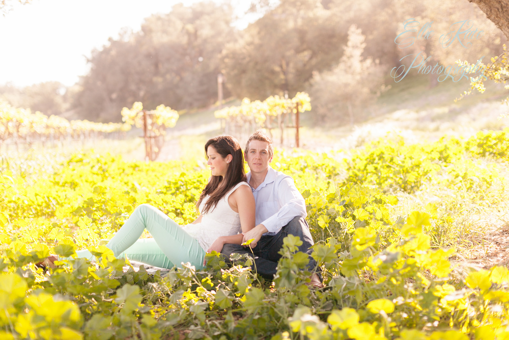 Firestone Vineyards Engagement Shoot