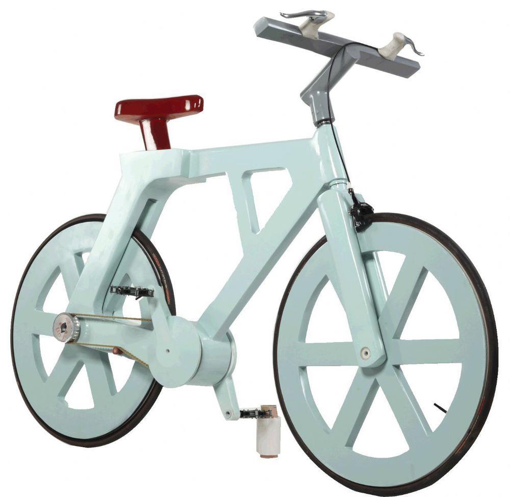 The Cardboard Bike