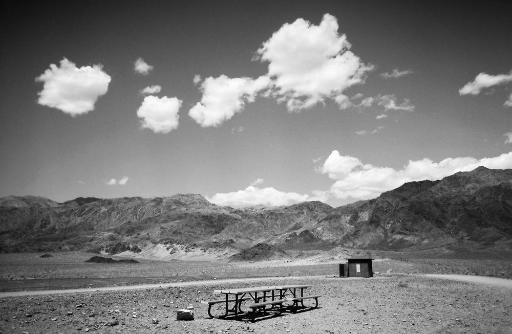 Rest Stop - Death Valley
