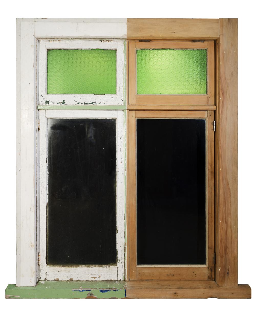 Exterior Window Half Stripped
