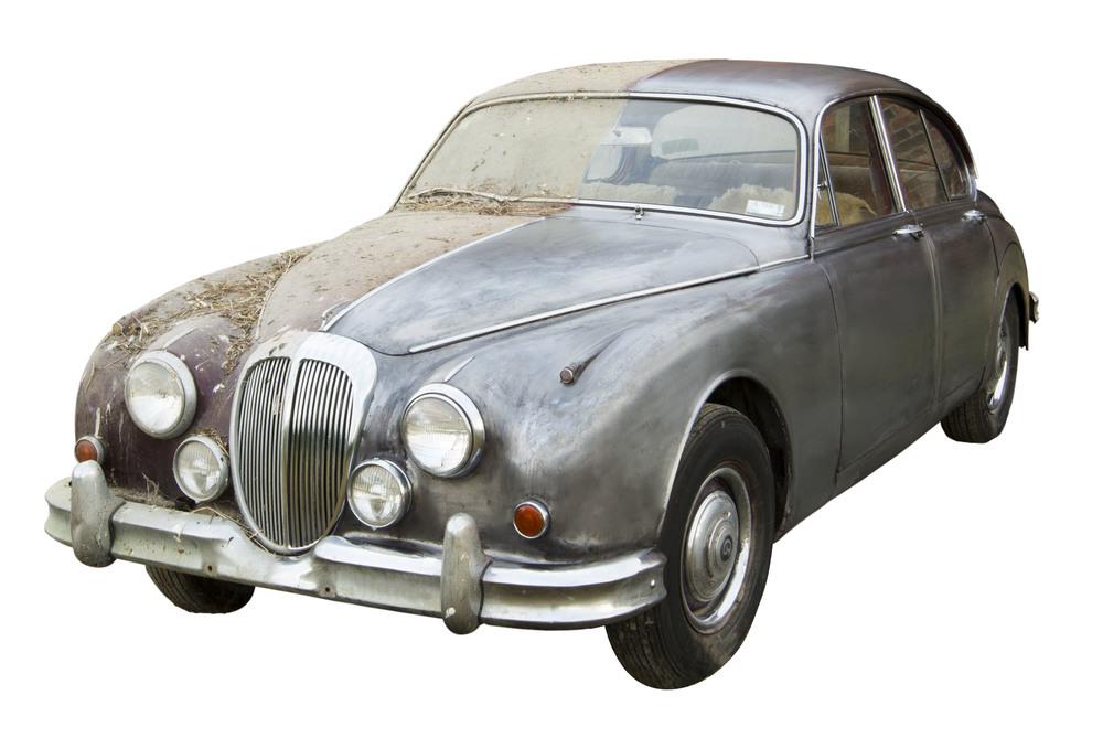 Daimler Half Stripped