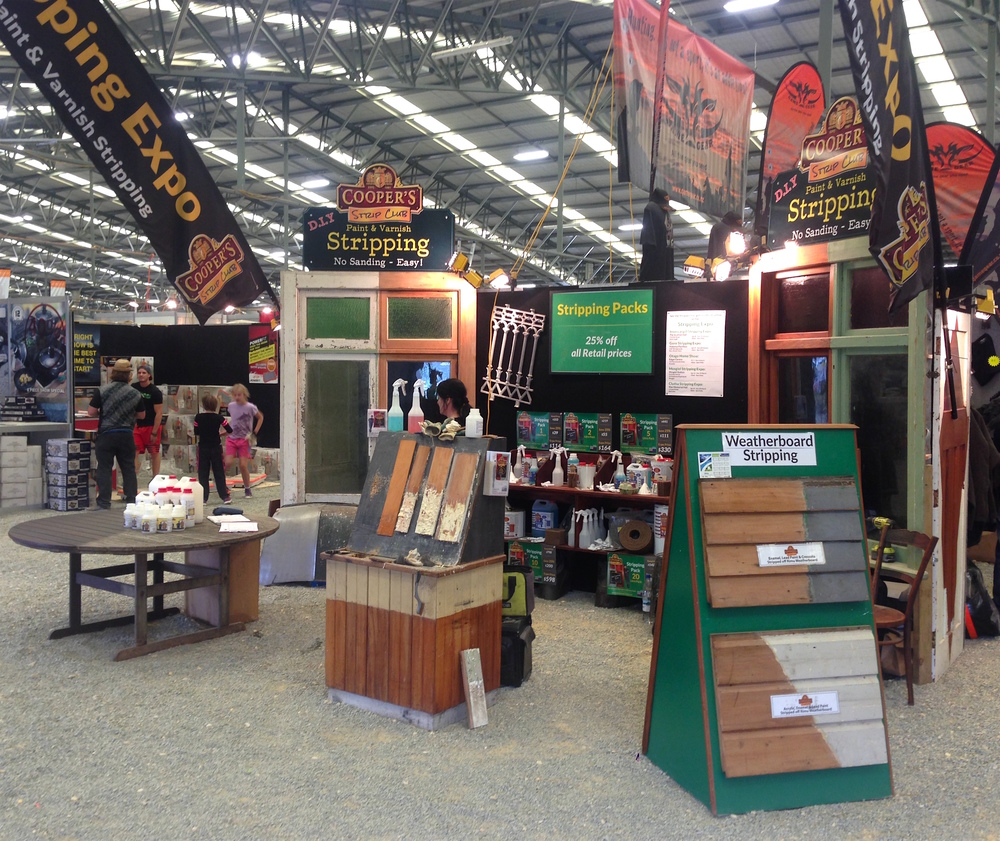 Our stand at the Southern Field Days