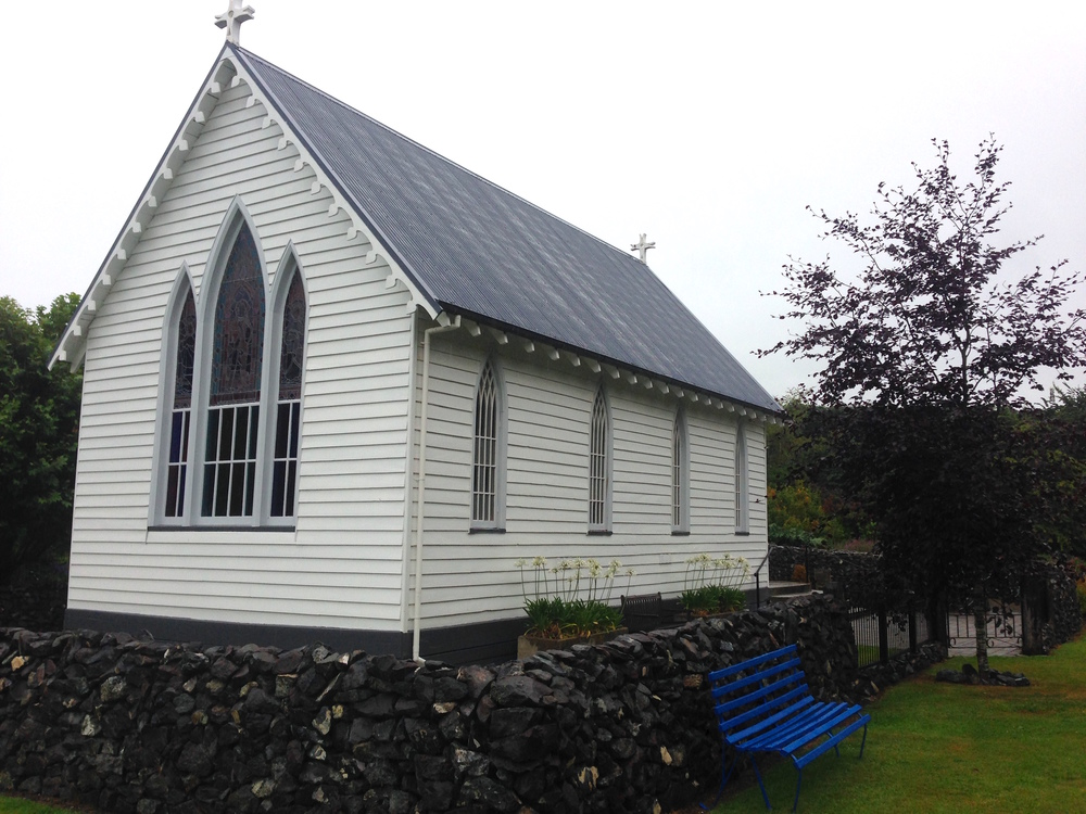 this building would be the oldest wooden church in Southland if you ignore the fact that it was moved to its current location from a different region.