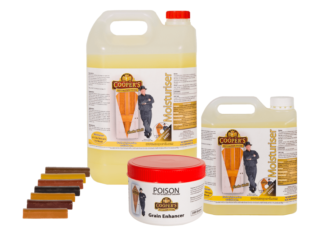 Cooper's Finishing Products