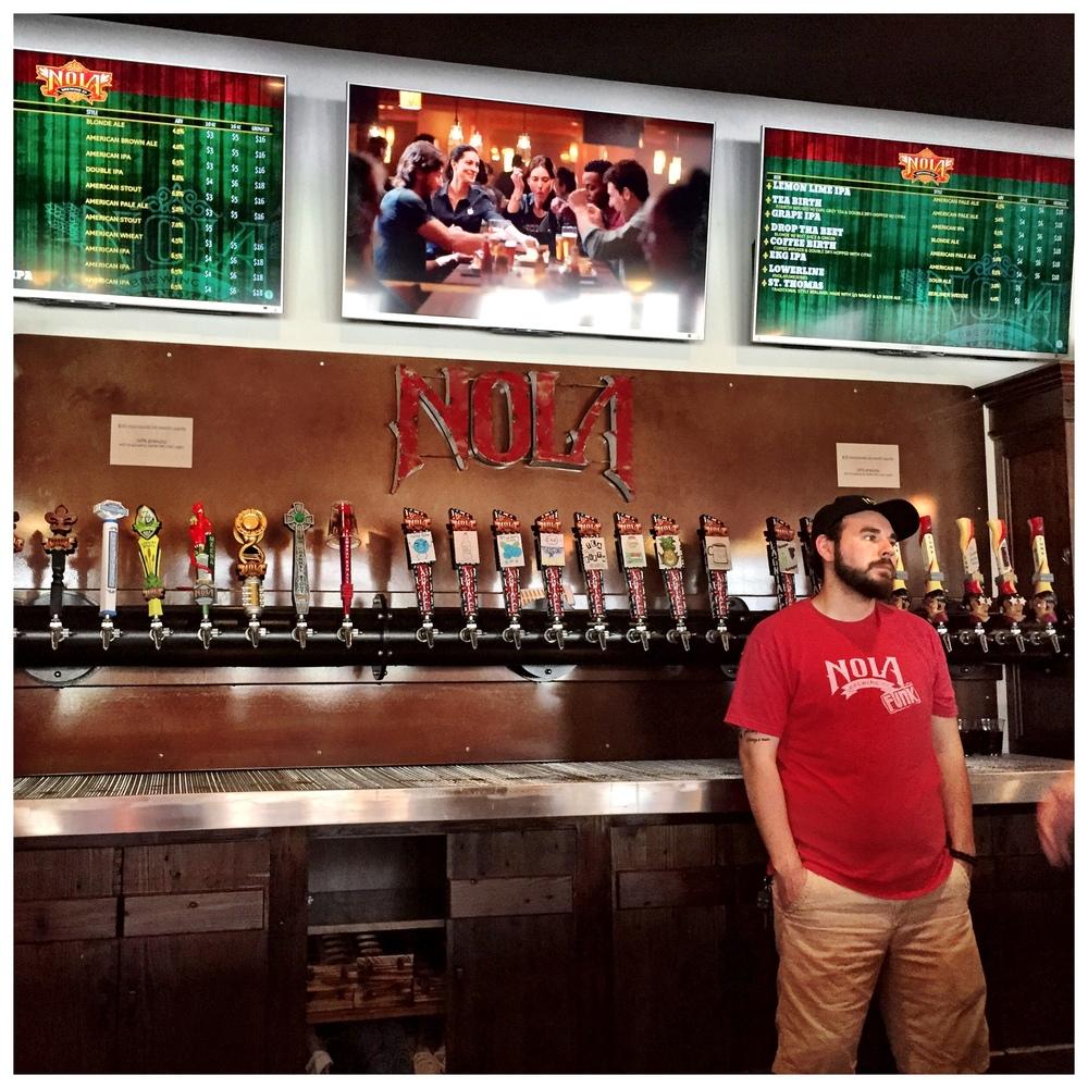 NOLA Brewing taproom