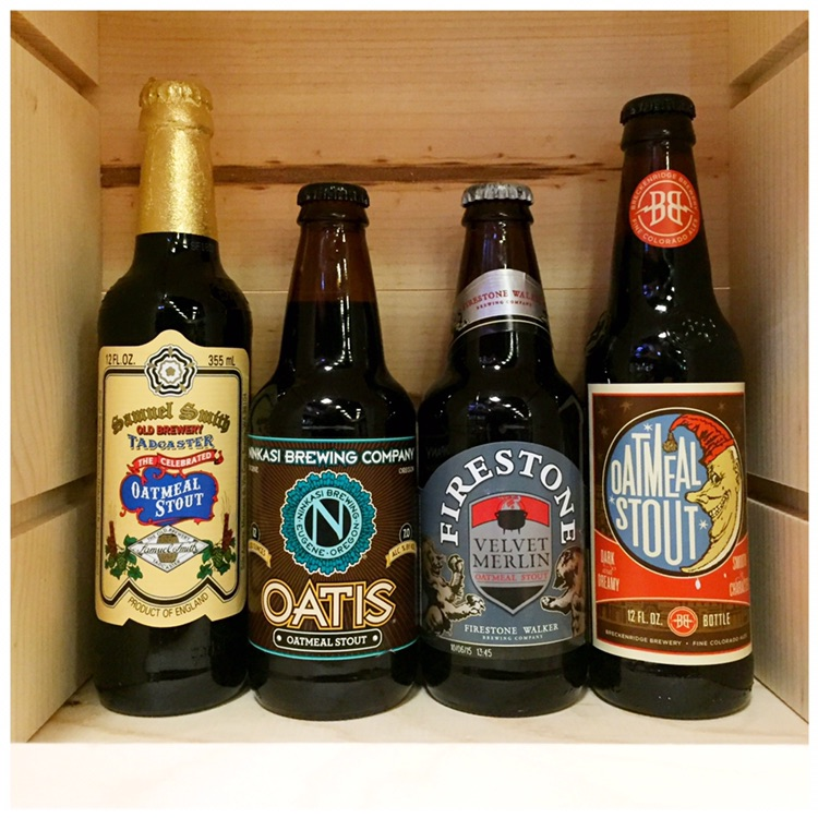 Oatmeal stouts - four to try