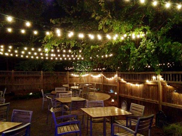 The Beer Garden at Lures Bar & Grille, Crownsville, MD, USA