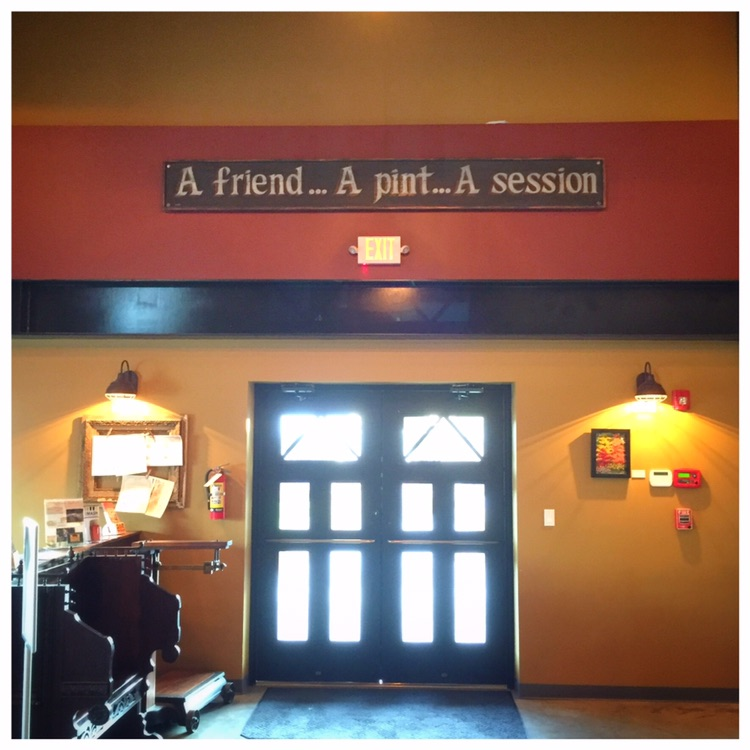 A friendly greeting - The Public House Brewing, Rolla MO