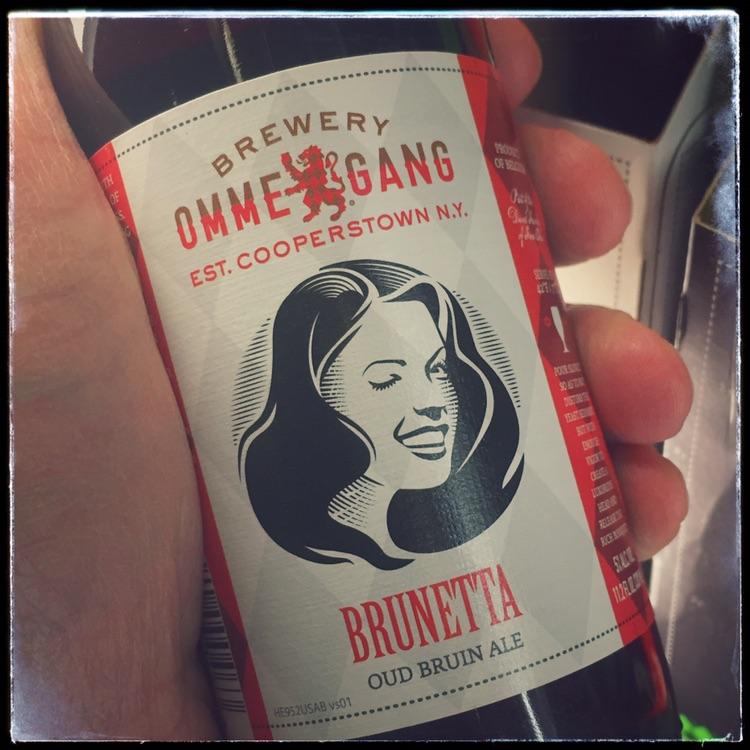 Brewery Ommegang Brunetta oud bruin ale
