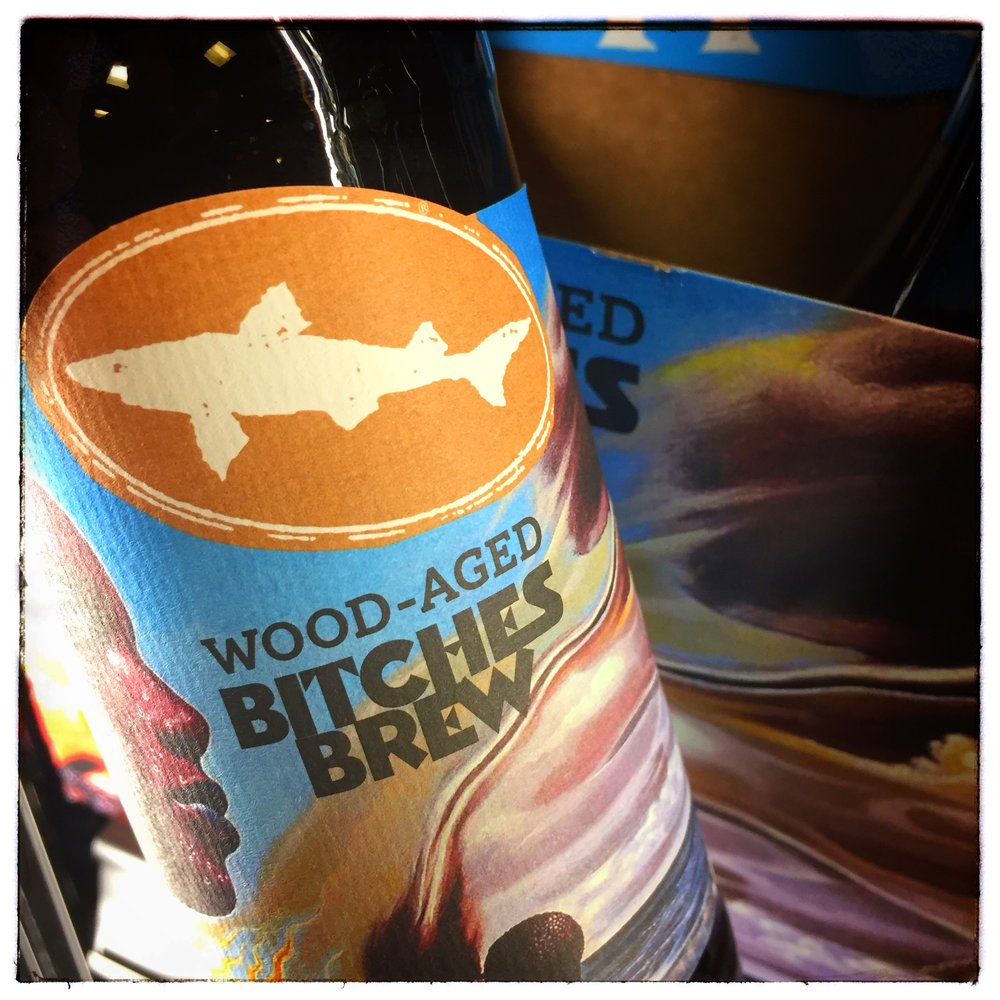 Dogfish Head's Wood-aged Bitches Brew — one example of the many excellent beers on the market.