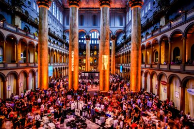 Site of SAVOR. National Building Museum, Washington DC.