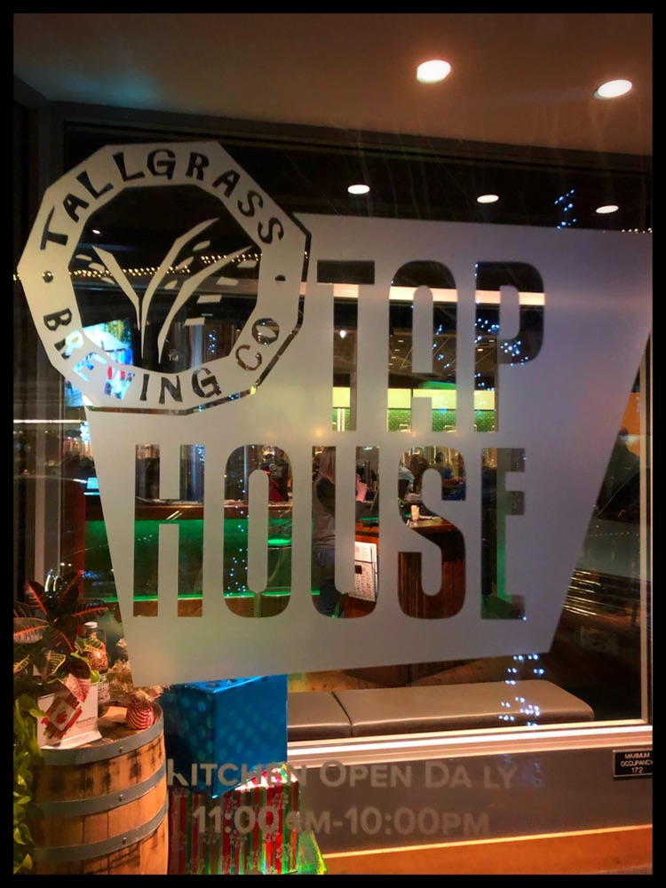 Tallgrass Tap House - The tap house kitchen is open!