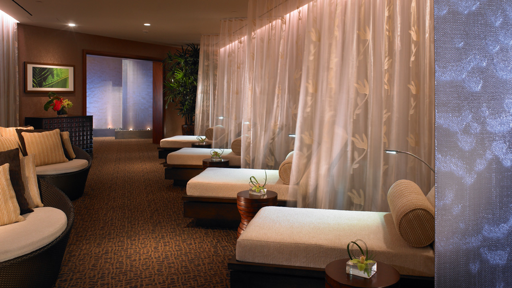Princeville - spa relaxation lounge