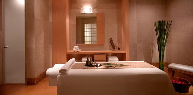 grand hyatt mumbai - spa treatment room