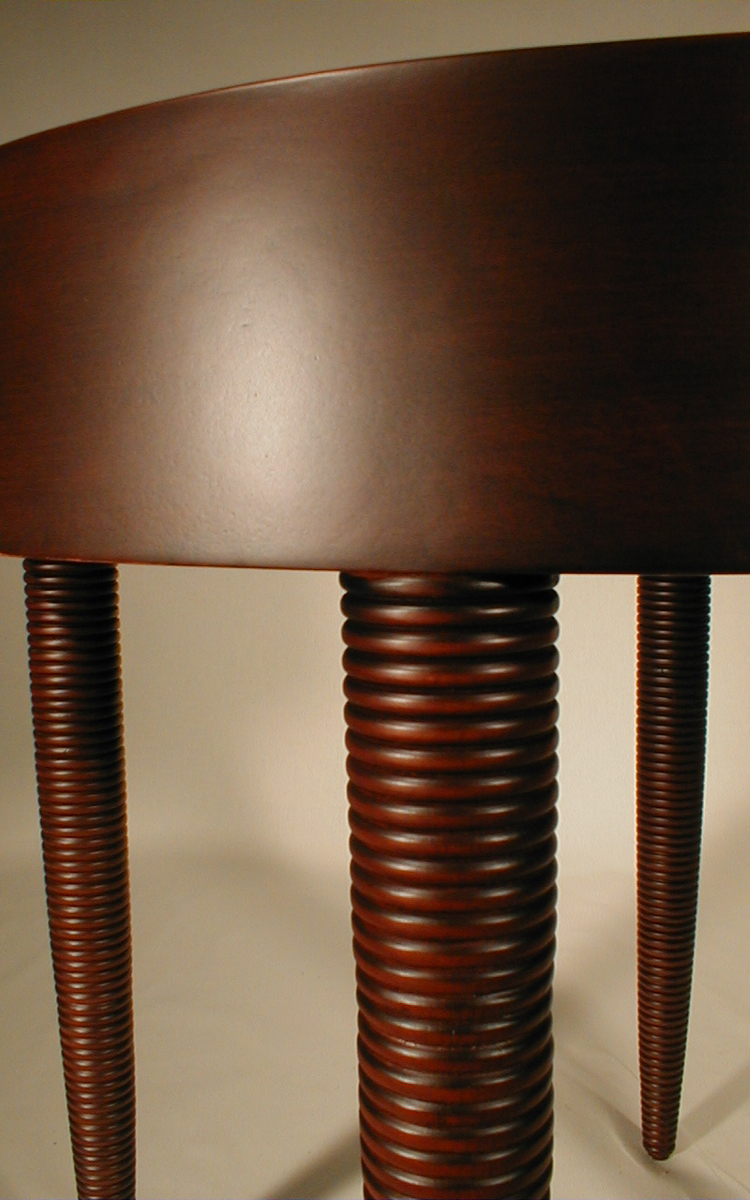 ... Chairs MJ Reed Table Detail ...