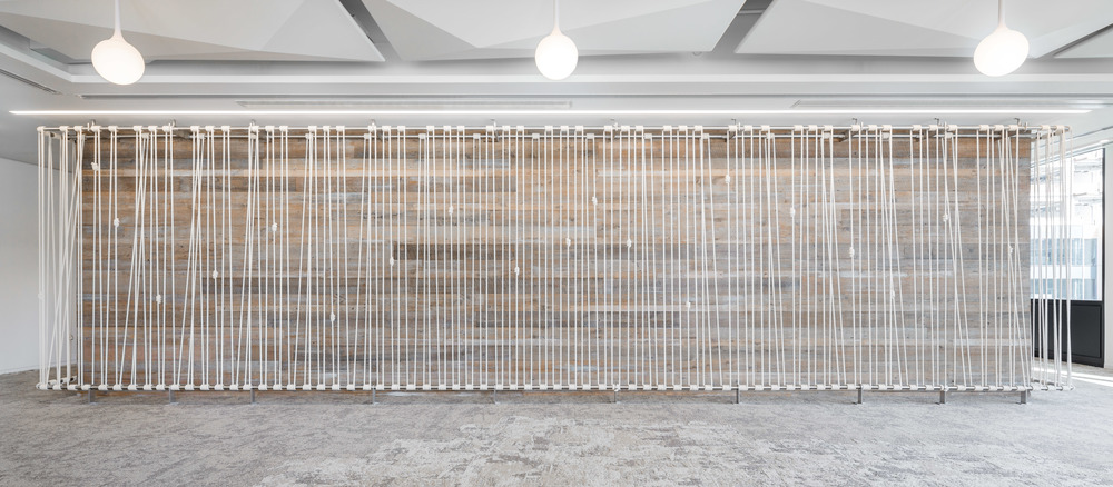 IBM four-wall wraparound rope installation by Windy Chien   http://windychien.com