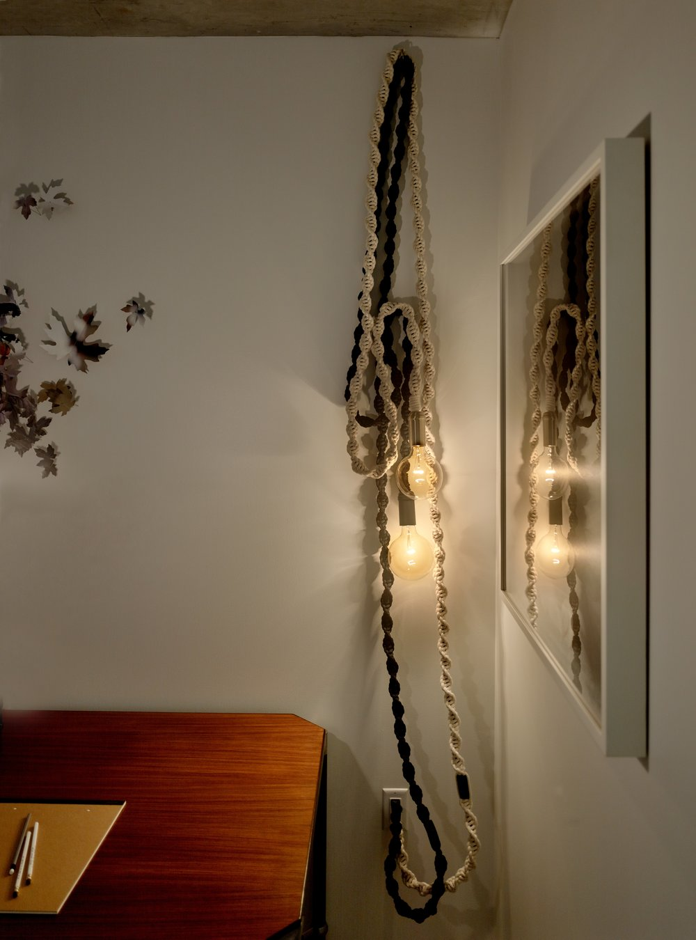 Helix Lights, The Rowan, San Francisco, by Windy Chien http://windychien.com