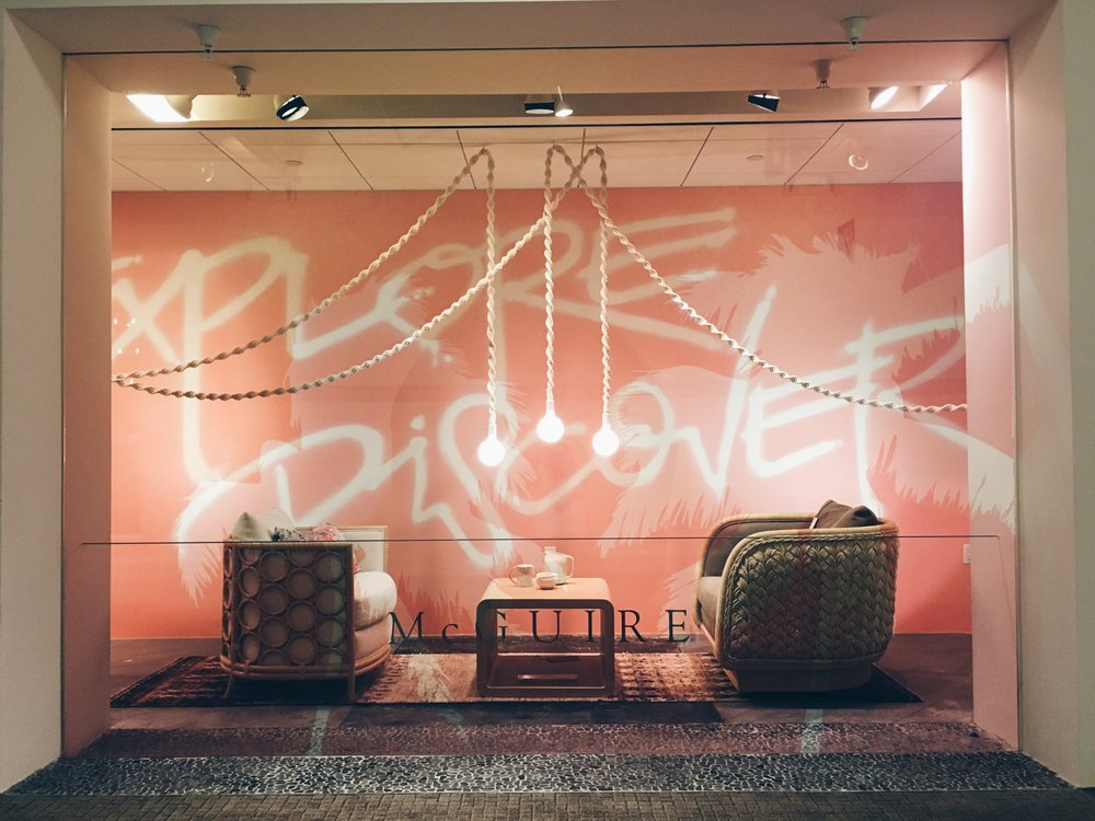 Helix Light installation, Windy Chien for McGuire Furniture, San Francisco.