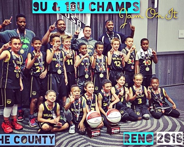 2016 Jam On It Reno, 9U & 10U Division Champs