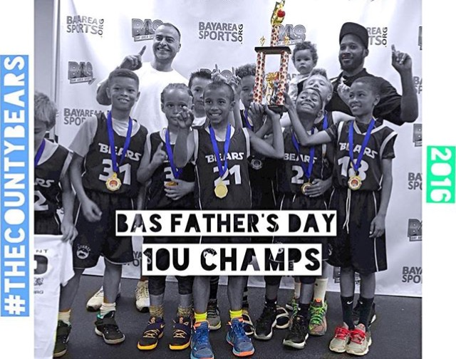 2016 Bay Area Sports Father's Day Weekend, 10U Champs