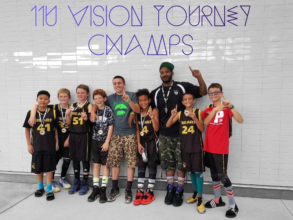 2016 Vision Tournament Champs, 11U