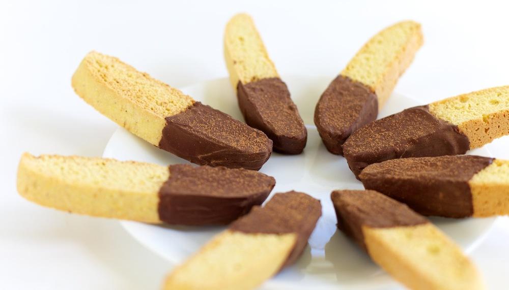 Citrus Chocolate Biscotti