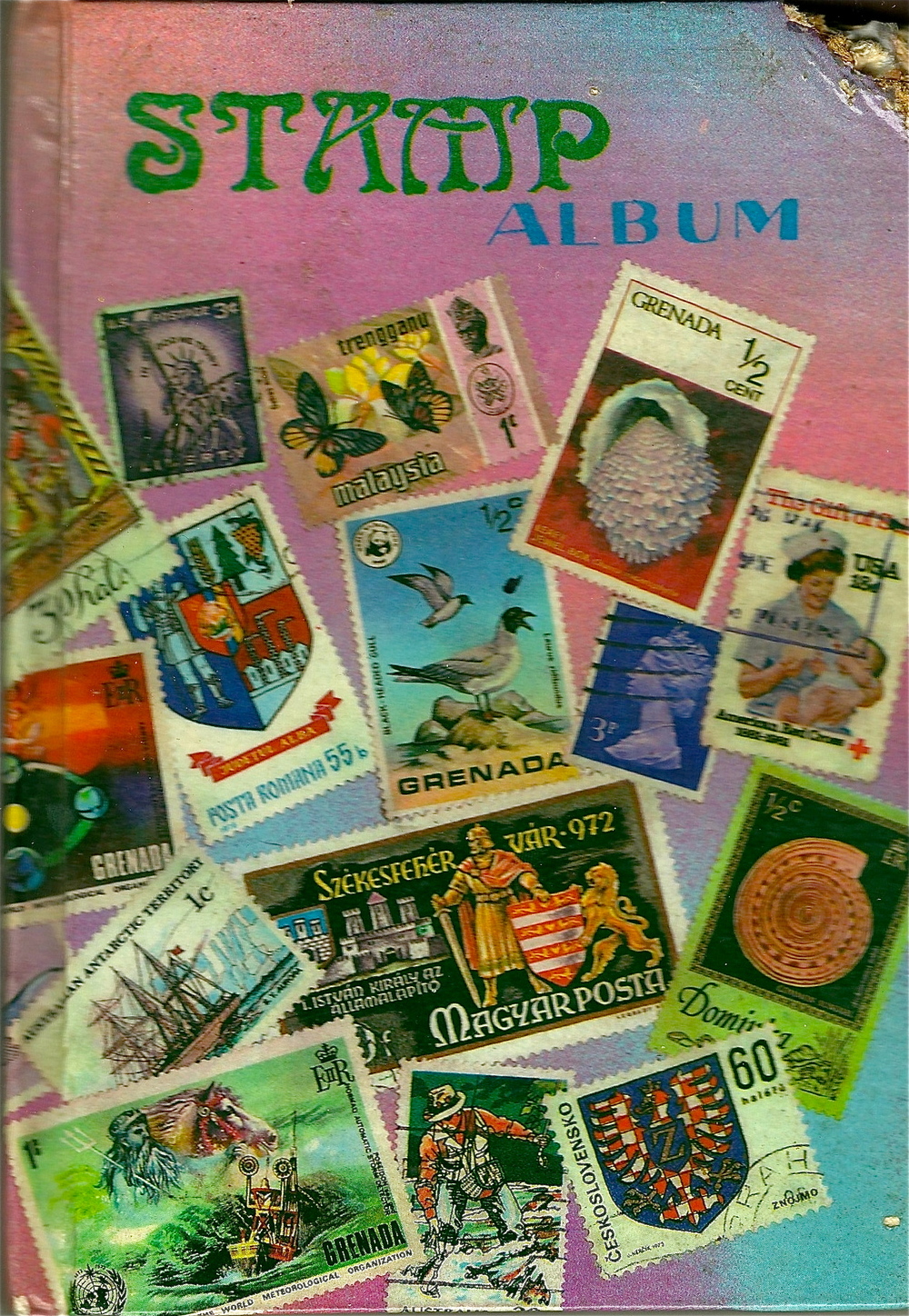 STAMP COLLECTION-
