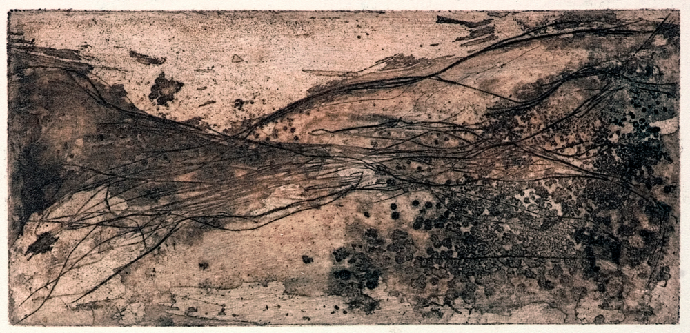 Before Creation From the series on Outsize Moments Digital print from original etching 85/115cm