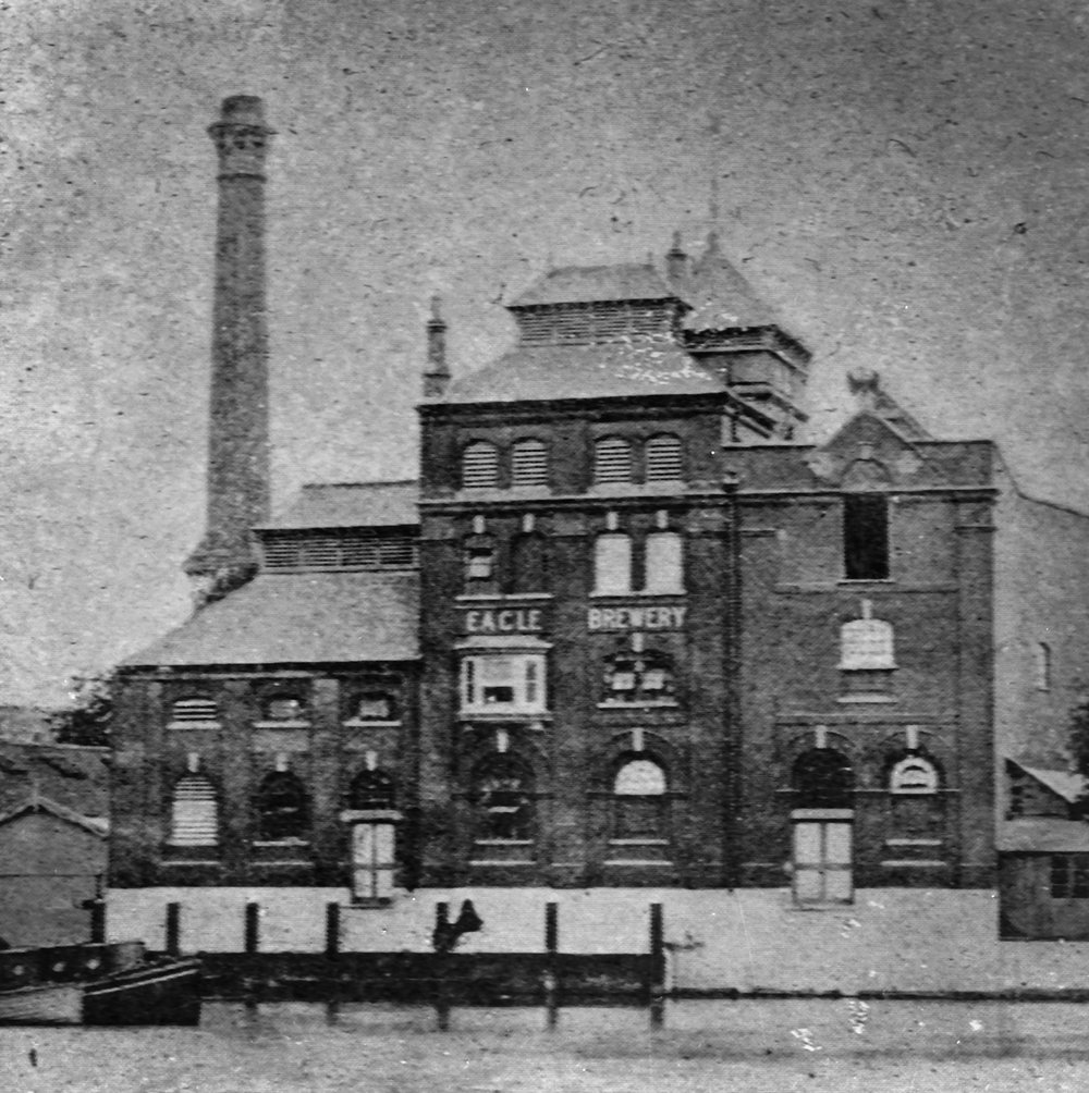 Eagle Brewery c19...??? What did they brew here?