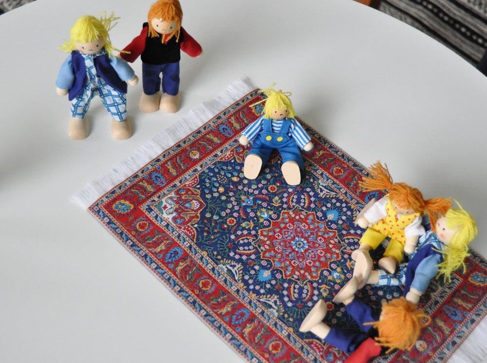 Elementer og settings fra introduktion af Play-talk konceptet - se mere på www.play-talk.dk