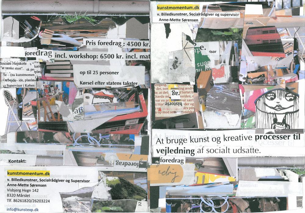 Brug af kreative og kunstneriske metoder til at styrke motivation og udviklingsglæde hos udsatte unge og voksne. - Daghøjskolen Kvindeliv og Selvhjælpsforeninger 2008-2012