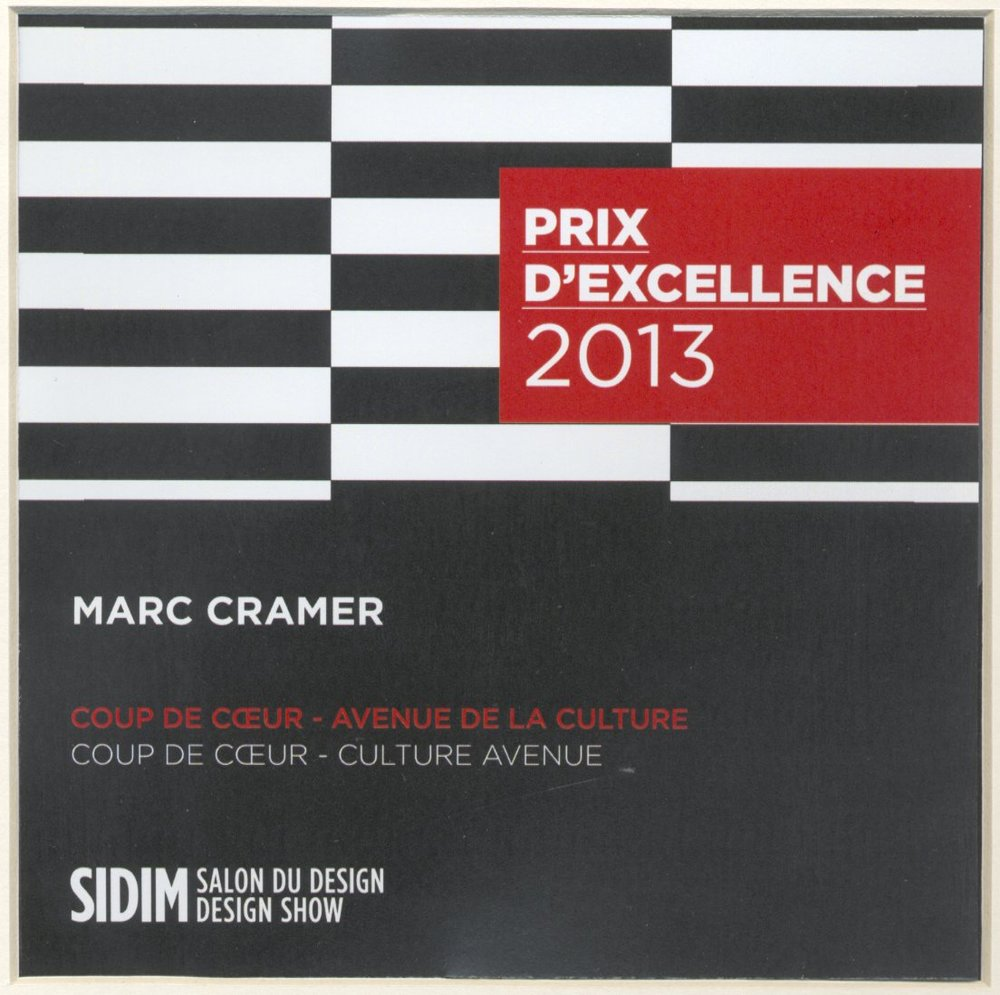 2013 SIDIM > Prix d'Excellence Coup de coeur - Culture Avenue