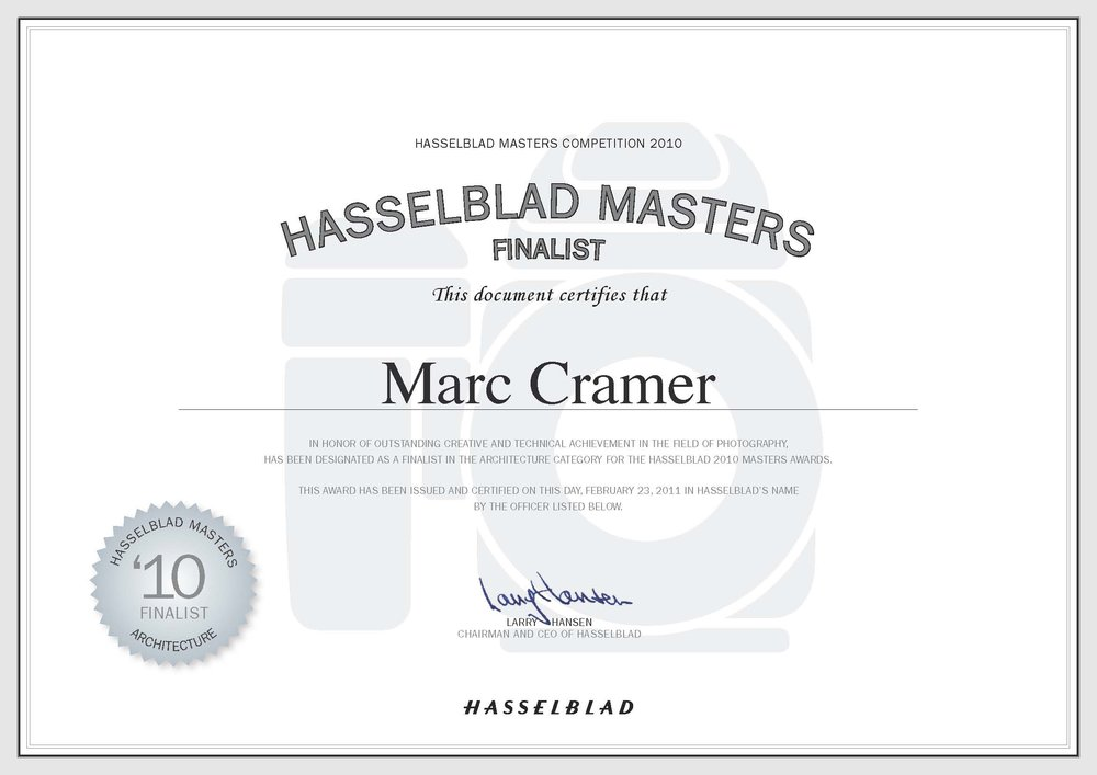 2011 Hasselblad Masters Finalist