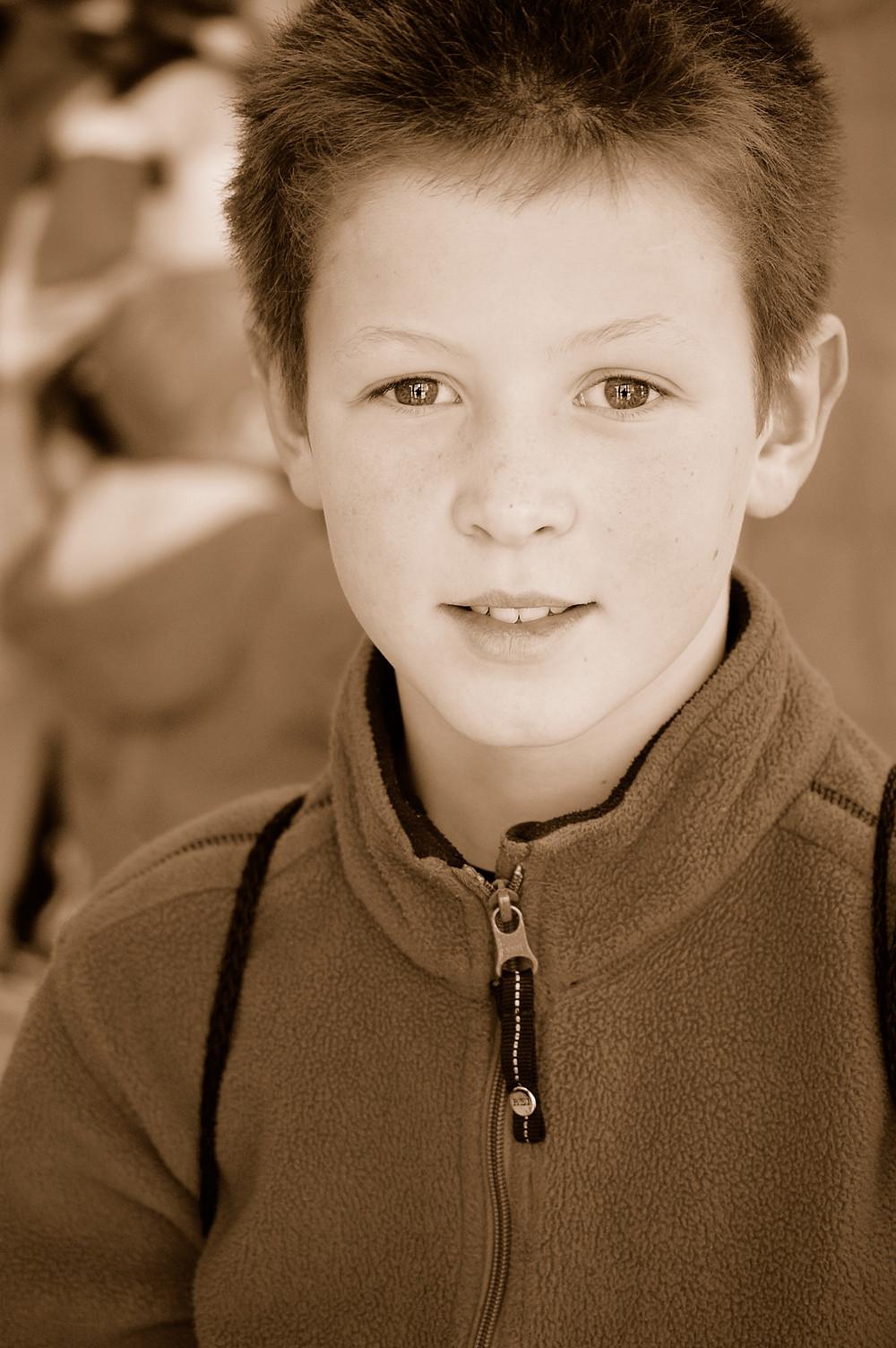 Colin, age 10