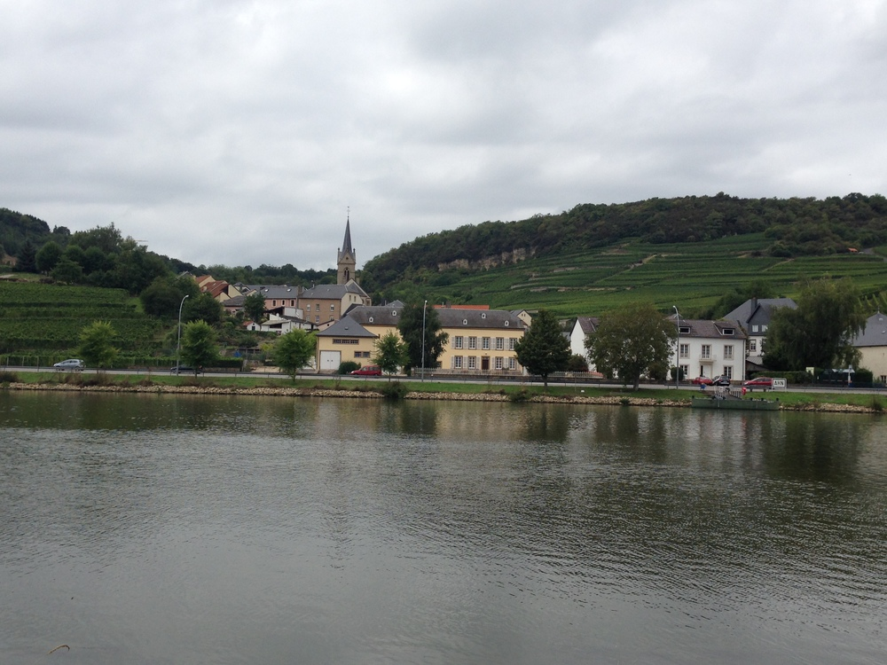 Ahn from the German side of the Moselle.