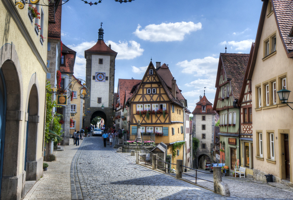 Rothenburg ob der Tauber.  Copyright © 2014,  GoingKraut.com . All rights reserved.