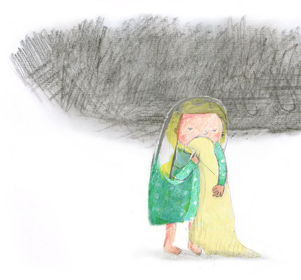little girl by ellen vesters